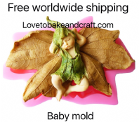 Elf mold, Pixie mold, Fairy mold, Doll mold, Polymer clay mold Free worldwide shipping. (1) (2)